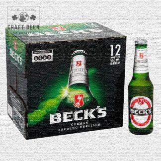 Becks comprar cerveza Pilsner caja