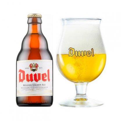 Duvel cerveza