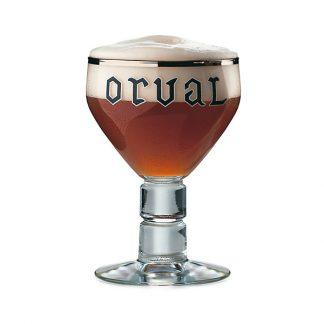 Orval cerveza copa