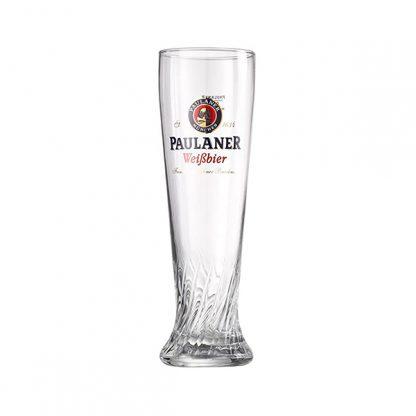 Paulaner Dunkel cerveza vaso