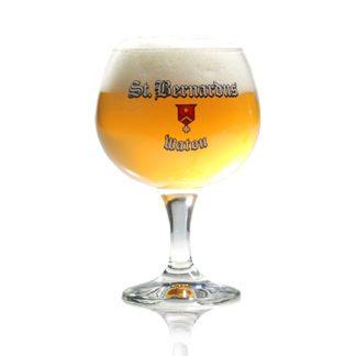 St. Bernardus Pater cerveza copa